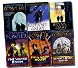 Christopher Flower Bryant and May Mystery Collection Christopher Fowler 6 books Set Pack (Full Dark House, The Water Room, Seventy Seven Clocks, Ten Second Staircase, White Corridor, The Victoria Vanishes) (Bryant and May Mystery Collection)