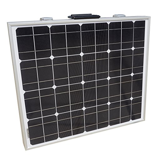 Portable Monocrystalline Solar Panel Kit Camping Hiking