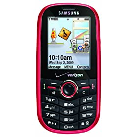 Samsung Intensity SCH-U450 Phone, Red (Verizon Wireless)