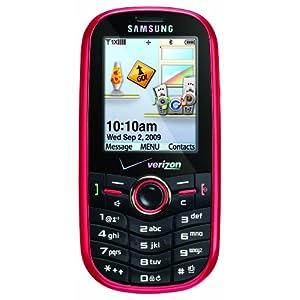 Samsung Intensity SCH-U450 Phone, Red (Verizon Wireless)