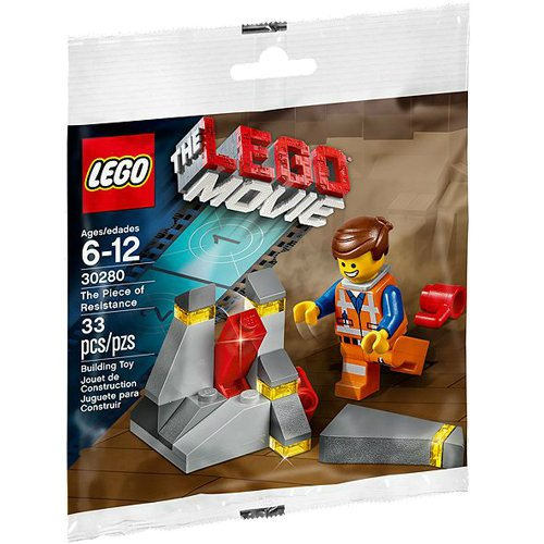 The Piece of Resistance LEGO Movie Set 30280 with Emmet Minifigure - 1
