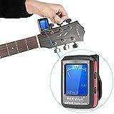 Neewer ® LCD Ansteck Stimmgerät für elektronische Digital-Gitarre Bass Violine
