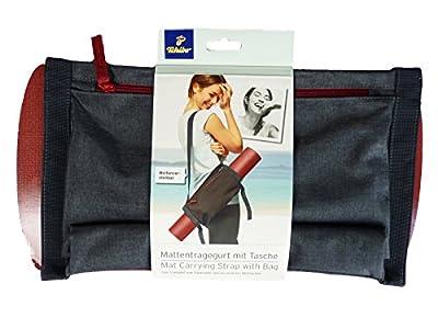 TCM Tchibo Mattentragegurt mit Tasche Yoga Sporttasche Tragegurt Gurt für Matte