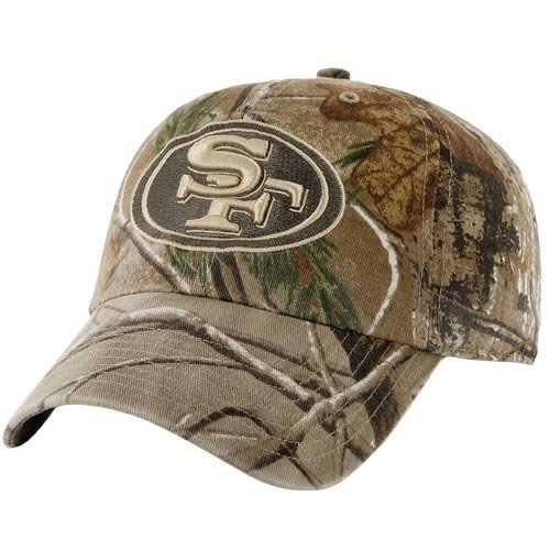NFL '47 Brand San Francisco 49ers Franchise Fitted Hat - Realtree Camo (XX-Large) at Amazon.com