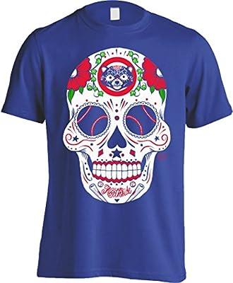 Chicago Cubs Sugar Skull Men's Shirt