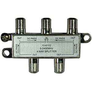 AXIS RSE-6434A HIGH-FREQUENCY SPLITTER (4 WAY) AXIS RSE-6434A HIGH-FREQUENCY SPLITTER (4 WAY)