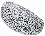Large Clamshell Filigree Embossed Hard Sunglasses Case - 4 Colors