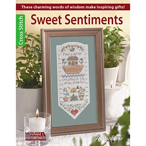 Leisure Arts Sweet Sentiments - 1