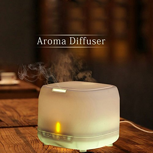 Airomatik 400ml Essential Oil Aromatherapy Diffuser Ultrasonic Cool Mist Aroma Fragrance