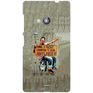 Nokia Lumia 535 Back Cover - Abstract Designer Cases