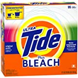 Tide Ultra Plus Bleach Original Scent Powder, 95 Loads, 171-Ounce