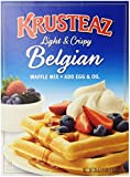 Krusteaz Light & Crispy Belgian Waffle Mix 28 oz by Krusteaz
