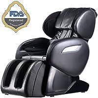 BestMassage BM-EC55 Electric Full Body Shiatsu Massage Chair (Black)