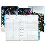 Day-Timer 2014 Coastlines Desk-Size Weekly Refill, 5.5 x 8.5 Inches (13483)