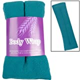 Lavender Scented Microwavable Wheat Warmer Teal Cushion Wrap Aches Pain Soothing