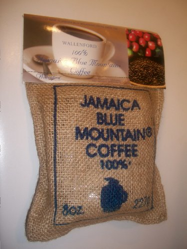 Wallenford 100% Jamaica Blue Mountain Coffee 1/2 Pound (Ground)