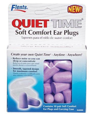 Quiet Time Comfort Foam Ear Plugs - 10 Pair - 33Nrr