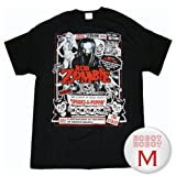 ロブ・ゾンビ ポスター 黒Tee/Rob Zombie Poster T-Shirt ロックTシャツ M【並行輸入】