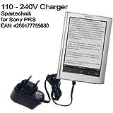 Chargeur Sony E-Book 350 650: Chargeur pour Sony PRS-350 PRS-650 Touch Digital Book. Recharger votre E-Book sur le secteur AC 220V noir