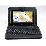 I KALL N2(512+4GB) Dual Sim 3G (WIFI+Voice) Calling Tablet With Keyboard -Black