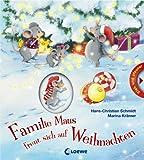 Familie Maus freut sich auf Weihnachten