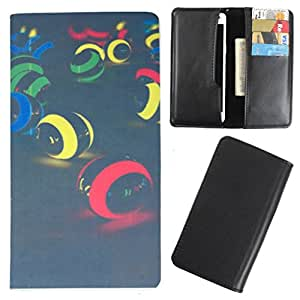 DooDa - For Gionee Pioneer P2S PU Leather Designer Fashionable Fancy Case Cover Pouch With Card & Cash Slots & Smooth Inner Velvet