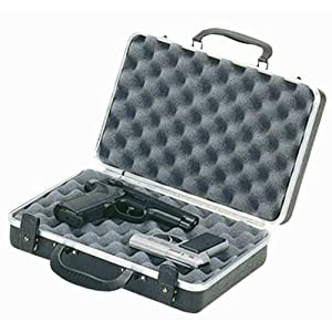 Amazon.com : Plano Gun Guard Deluxe 2-Pistol Case : Airsoft Gun Cases