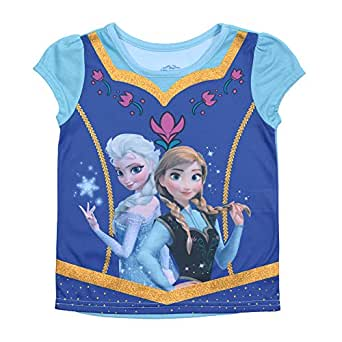 Disney's Frozen Elsa & Anna Sublimation Dress Up Shirt