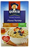 Quaker Instant Oatmeal Variety 398 g (Pack of 3)