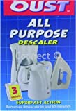 Oust All Purpose Descaler (Pack of 3) (Electruepart, Accessory) Superfast action; Removes limescale in just 10 minutes
