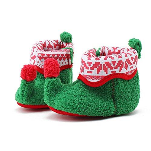 Itaar, Stivaletti bambine verde Green 0-6 mesi