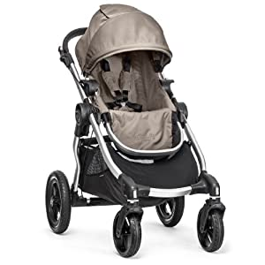 Baby Jogger City Select Silver Frame Stroller, Quartz by BaJogger