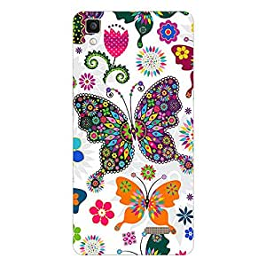 Garmor Designer Silicon Back Cover For Reliance Lyf Water 2