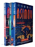 Isaac Asimov Isaac Asimov: 3 books : Foundation Trilogy: Foundation / Foundation and Empire / Second Foundation rrp £23.97