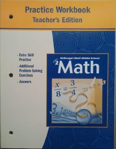 Mathematics: Practice Workbook Course 2, Teacher's Edition