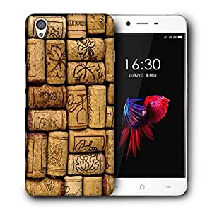 Snoogg Bottles Cork Designer Protective Back Case Cover For ONEPLUS X