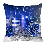 MeSleep Merry Christmas Cushion Covers In Digital Print - B018K9JVIO