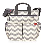 Skip Hop Duo Diaper Bag, Signature Chevron