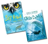 Gill Lewis Gill Lewis Collection - 2 Books RRP £15.98 (Sky Hawk; White Dolphin)