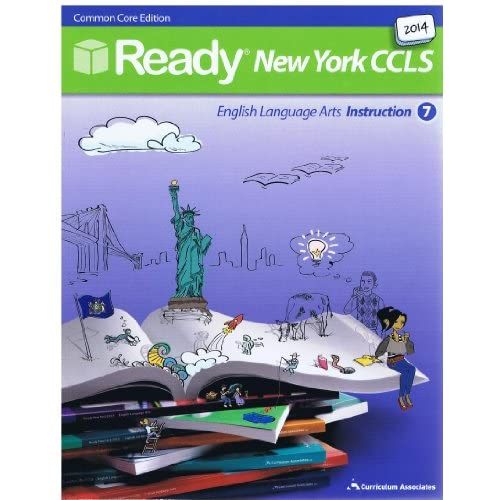 Amazon.com: 2014 Ready New York CCLS Common Core ELA Instruction Grade