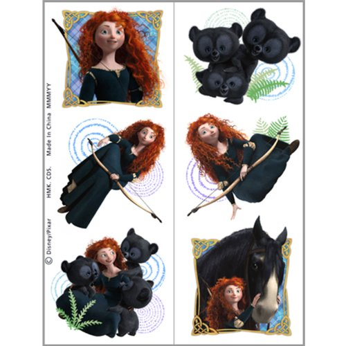 Disney Brave Tattoo Sheets (2) Party Accessory - 1