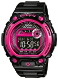 Casio BLX-100-1ER Ladies Watch Quartz Digital Multicolour Dial Black Resin Strap
