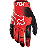 Fox Racing Pawtector Race Men's MX Motorcycle Gloves - Red / 2X-Large