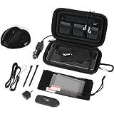 Nintendo DSi XL 20 In 1 Starter Kit, Black