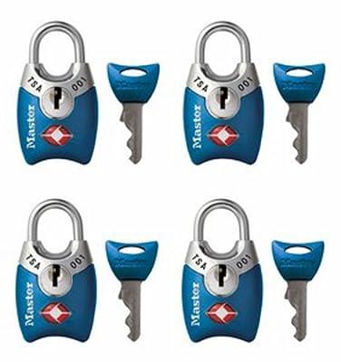 Master Lock TSA Accepted Padlocks with Keys