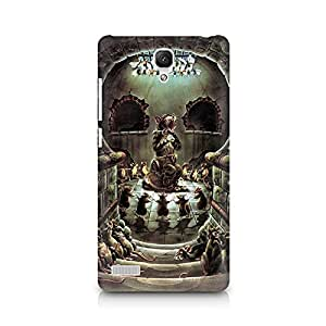 Mobicture Skull Abstract Premium Printed Case For Xiaomi Redmi Note