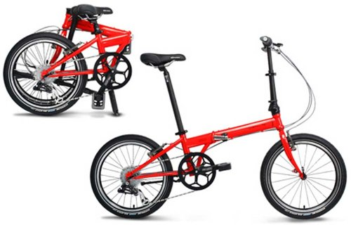Sale!! Dahon Speed P8 Folding Bike (20-Inch Wheel, Fire)