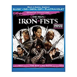 The Man with the Iron Fists  (Two-Disc Combo Pack: Blu-ray + DVD + Digital Copy + UltraViolet)
