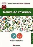 Cours de révision Mathématiques 5e : Leçons et exercices...
