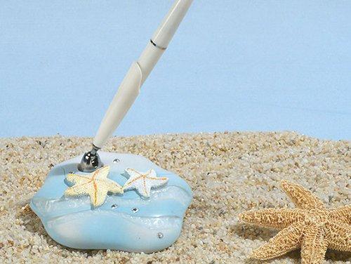 Starfish beach theme pen set (Set of 32)